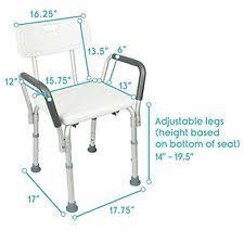 Bathtub Chairs For Seniors Shower Chair Bathtub Arms Handicap Disabled Bath Seat Elderly