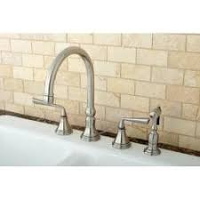Satin Nickel Kitchen Faucet Claremont Satin Nickel 8 Inch Kitchen Faucet Free Shipping Today