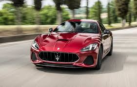 maserati granturismo red 2018 maserati granturismo gains a new look but has the same engine