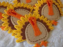 turkey stickers thanksgiving turkey stickers felt turkey fabric stickers thanksgiving craft