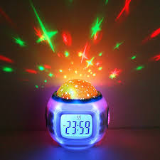 children music sleeping sky star night light projector lamp