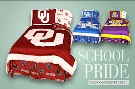 college themed bedding for ncaa schools college covers