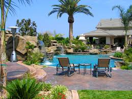 Small Backyard With Pool Landscaping Ideas by Fascinating Most Beautiful Backyards With A Swimming Pool Also