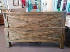 Rustic Queen Headboard rustic king size farmhouse bed w platform стиль лофт