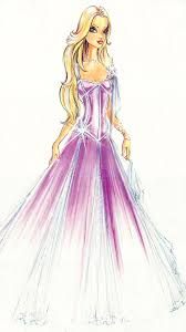 barbie magic pegasus annika fashion sketches