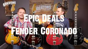 epic deals fender coronado youtube