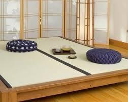 Tatami Platform Bed Frame Tatami Bed Used As Platform For Meditation Or Tea Service
