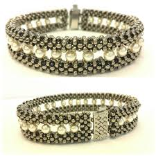 weave beaded bracelet images 1812 best beading right angle weave raw images jpg