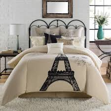 eiffel tower girls bedding paris bedding queen home beds decoration