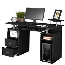 stylish computer desk stylish black computer desk coaster peel pcs and cpu stand desks