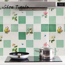 kitchen cabinet decals flower promotion shop for promotional