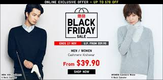 uniqlo black friday uniqlo black friday sale up to 70 off online and in stores 25