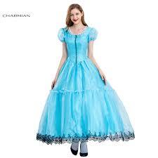 Belle Halloween Costume Blue Dress Cheap Belle Halloween Costume Women Aliexpress