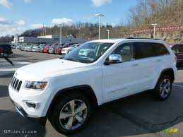 car jeep white 2014 bright white jeep grand cherokee limited 4x4 79263593