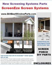Patio Enclosure Systems Porch Patio Deck Sunroom Enclosure Screen Best And Easy System