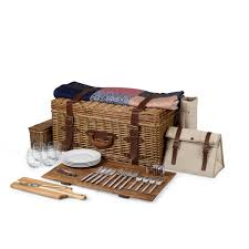 wicker basket with leather handles elegant country picnic baskets from dann complete collection