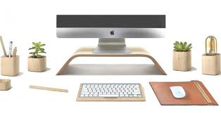 Desk Top Accessories Grovemade Makes Desktop Accessories With Wood Leather