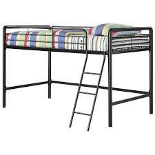 Steel Frame Bunk Beds by Dhp Braston Junior Loft Bed Hayneedle