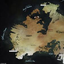 Map Of Essos Game Of Thrones Inspired Map Of Australia Designed By Graphic