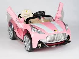 maserati pink exotic maserati style 12v remote control ride on coupe w vertical