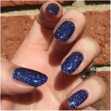 digital nails dark matter model city polish