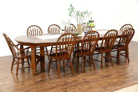 vintage dining room tables oak vintage dining set 54
