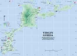 Caribbean Islands Map by Virgin Gorda Map Virgin Gorda British Virgin Islands