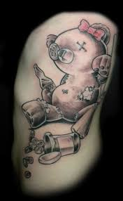 amazing teddy bear tattoo designs photo 1 photo pictures and