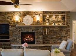 stone fireplace outdoor yellow wall art best leather storage