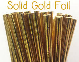 where to buy gold foil gold straws etsy