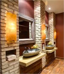 tuscan bathroom design bathroom killer tuscan bathroom design ideas with white brick