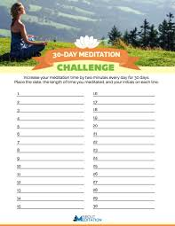Challenge Site 30 Day Meditation Challenge About Meditation