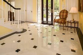 flooring designs plaid chair with yellow wall color and marble tile flooring designs