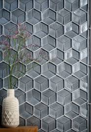 glass tile tile interior design tozen tile feature wall