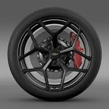 wheels camaro z28 chevrolet camaro z28 2014 wheel 3d model cgtrader