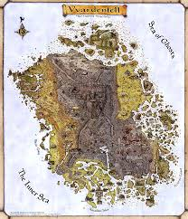 Map Of Skyrim Vvardenfell Elder Scrolls Fandom Powered By Wikia