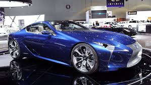 lexus lf lc launch lexus lf lc production model could fill an important gap in