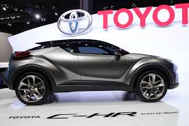 2015 toyota lineup toyota trots out updated c hr concept in frankfurt production