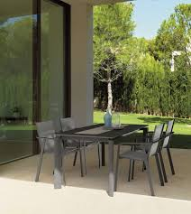 Stackable Dining Room Chairs Contemporary Dining Chair Stackable Aluminum White Milo By