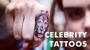 20 small female celebrity tattoos youtube