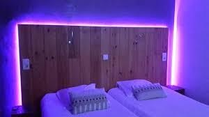 chambre lumiere lumière à led et télécommande côté sympa de la chambre picture of