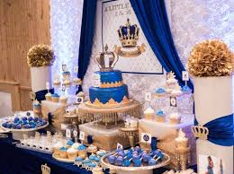 royal prince baby shower decorations royal prince theme baby shower venuemonk