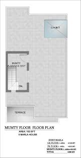 graceland home 5 marla 3 bedroom 3 bath 2 lounges 2 lawns drawing