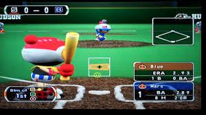 Backyard Baseball Ps2 Bomberman Hardball Playstation 2 Baseball Youtube