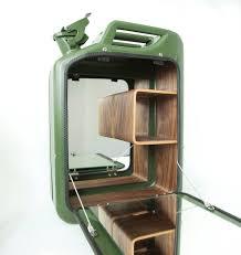 War Cabinet Ww2 World War Ii Jerry Cans Transformed Into Bar Cabinets