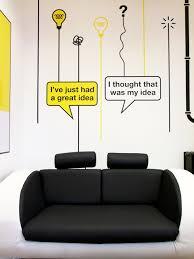 New Office Graphics Part Deux Blog C  Creative Advertising - Interior design advertising ideas