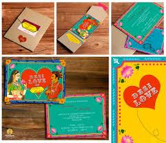 creative indian wedding invitations creative indian wedding invitation designs jakartasearch