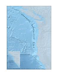 Oregon Tsunami Map by Cascadia Subduction Zone Wikipedia