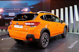 suv subaru xv new subaru xv to make world debut in frankfurt autoevolution