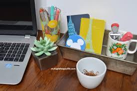 Organizing Your Desk Organizing Your Desk With Vintage Finds My Big Happy
